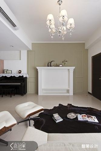 豪华欧式卧室重色调