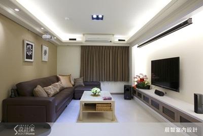 开放又简约的现代客厅设计