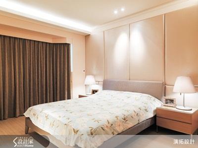 卧室木板床头背