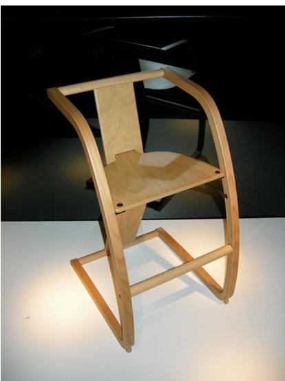 天童木工-儿童餐椅