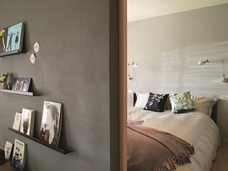 把所有墙面都拆除,一进门就可以看见偌大的落地窗,不刻意作做出玄关图片