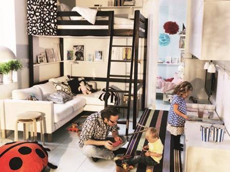 北欧风,儿童房,卧室,书房