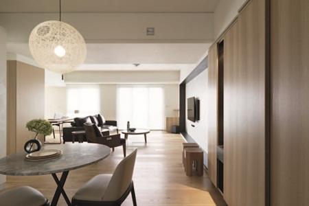 北欧风居家没有过多的线板和装潢,简约的空间当中,家具和灯具相对来得图片