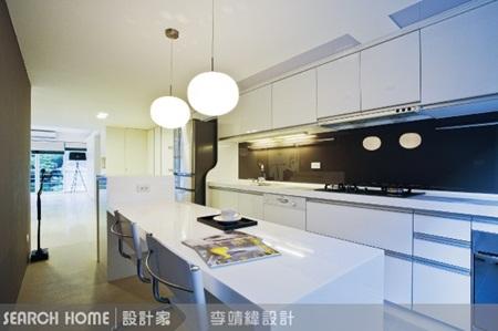 老屋,开放式厨房,中岛,阳台图片