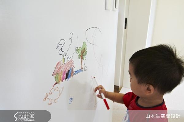 儿童家设计,隔绝噪音,涂鸦墙