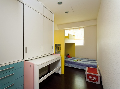 儿童住家设计,阳台,涂鸦墙