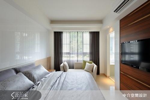 空間設計特別讓每間臥室都有自己的衛浴