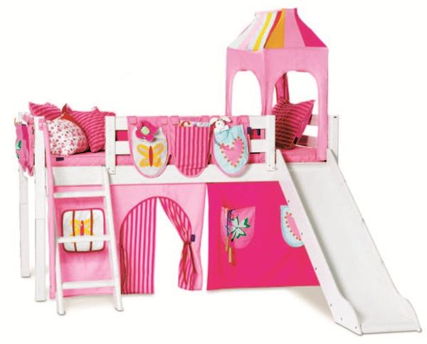 旋转楼梯儿童床图片