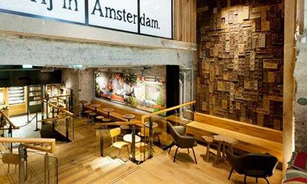 星巴克starbucks 荷兰概念店的环保变装秀图片