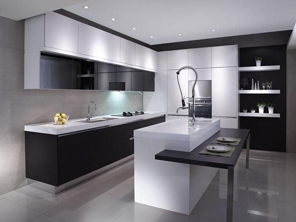 满足开放式厨房的嵌入式电器图片