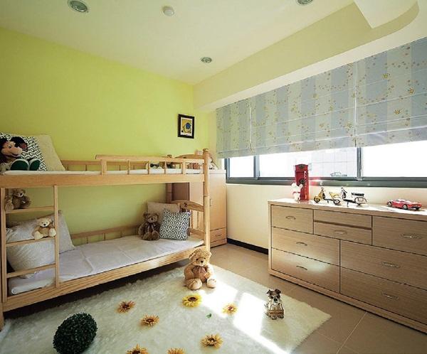 欧式儿童房装修效果图钢琴