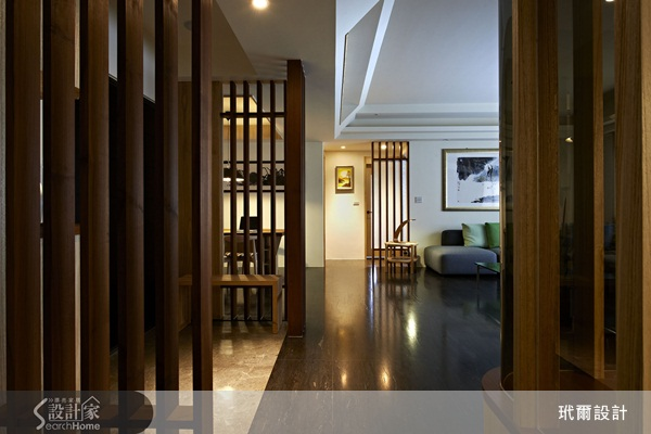 木格栅的设计不只为空间做出变化