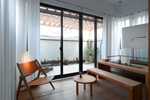 音樂、閱讀、發呆…三角畸零地重生,藏身於台南市區的Villa毛鏗