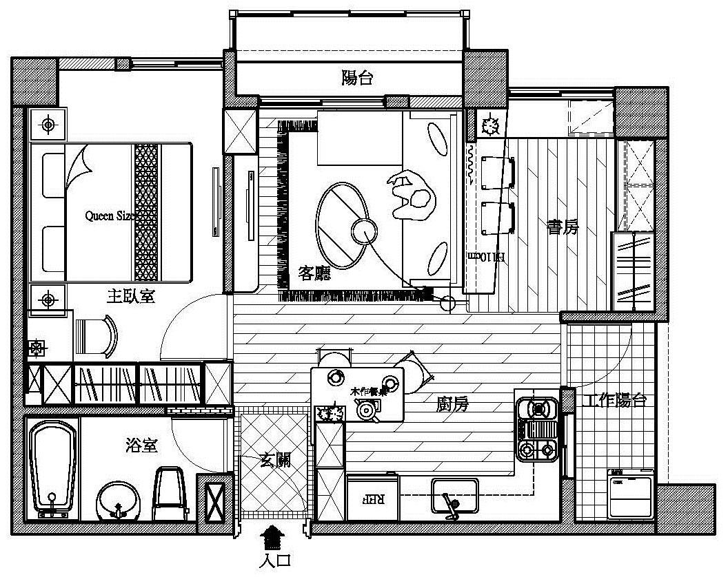 室内设计; 农村厨房设计平面图