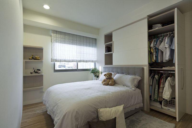 床头背景墙动物图案装修效果图