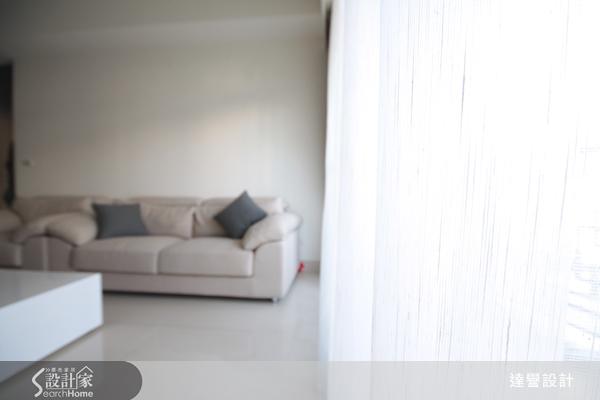 白色地板配窗帘浅色木地板配窗帘图片1