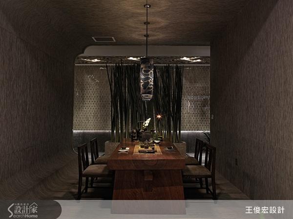 在現代空間注入中式靈魂的茶堂設計