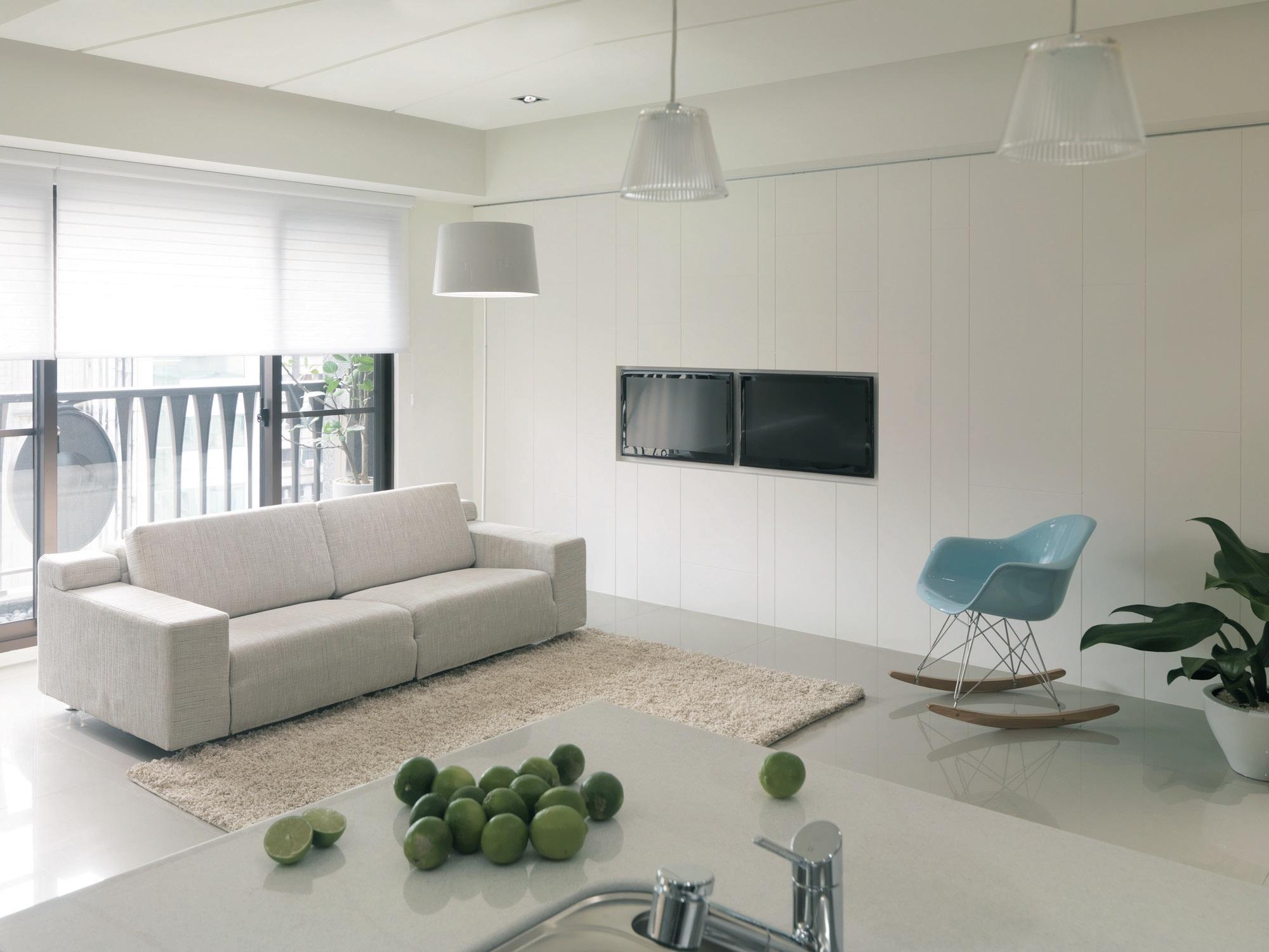身心灵完全纾压~25个北欧风居家空间设计(下)   20  分区照明,兼顾图片