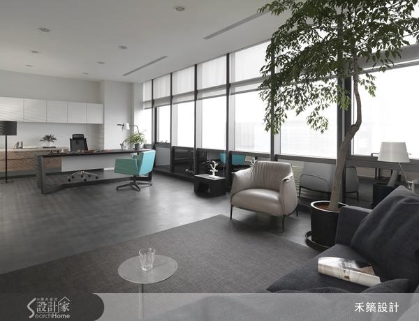 簡約而時尚!現代質感辦公室設計