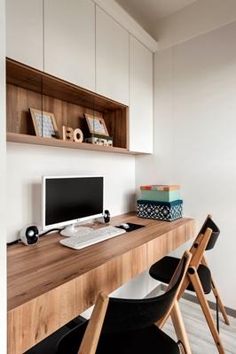 edHOUSE 機能櫥櫃 輕裝修 系統櫃 系統櫃設計 系統家具 系統板材 收納 高品質 低甲醛板材 書房 室內設計 輕裝修設計