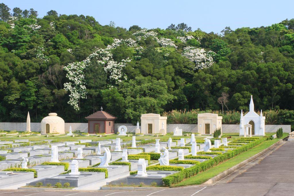傳世家族墓園與精緻墓園遠觀