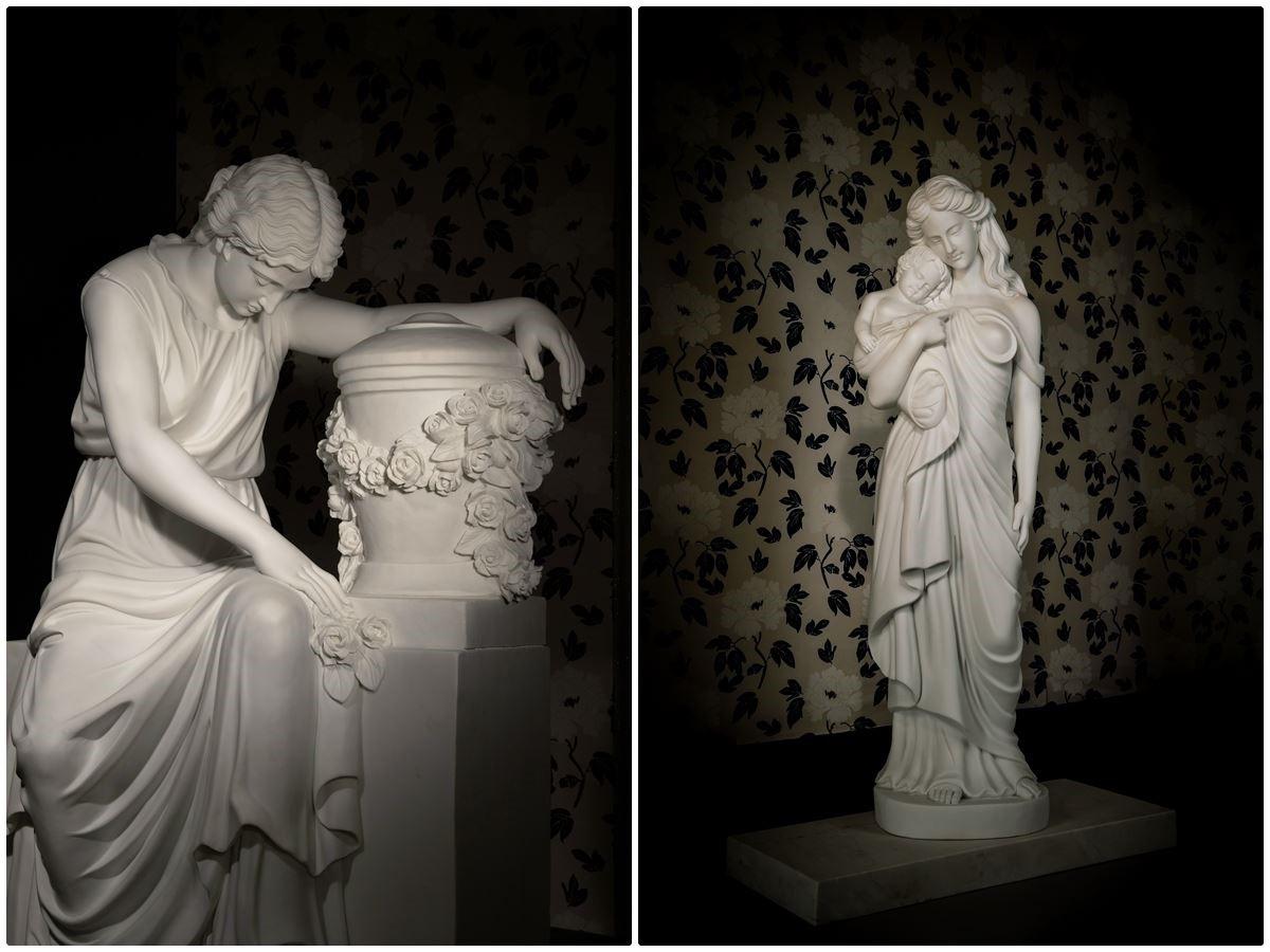 天陵墓園使用石雕藝術展現生命價值