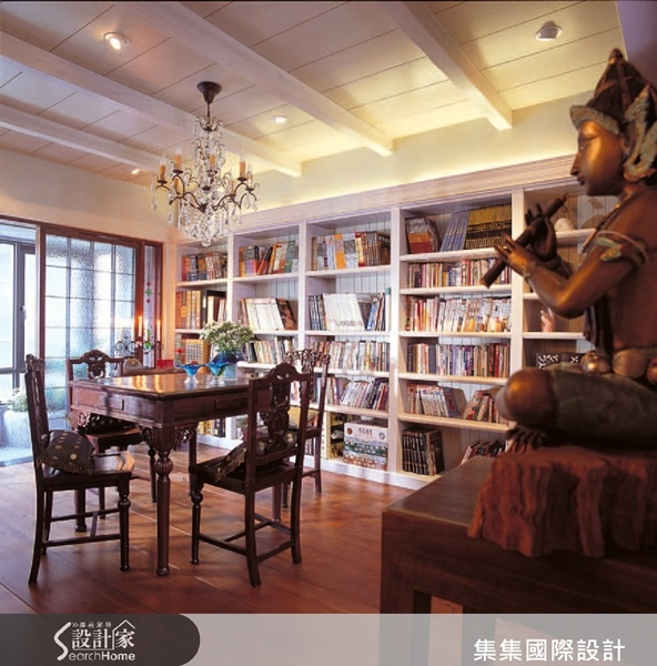 摆饰以上海风的欧式古典+中式融合