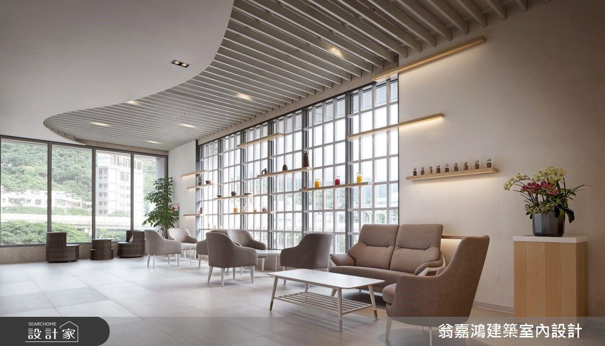 明亮飯店風打造精緻的按摩會館!綠意、窗景、舒適度缺一不可。