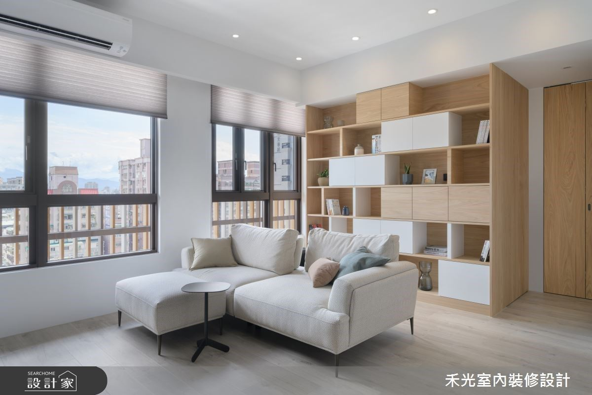 如何打造清爽迷人的小坪數居家?純白、淺木質寫下的日式簡約感
