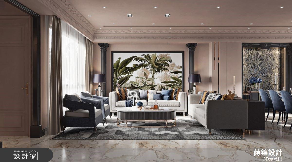 優雅新古典遇見熱帶風景!退休後住進透天別墅,迎接多代同堂的美好